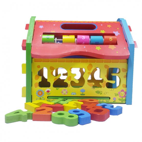 Drvena kućica umetaljka -Najlepše igračke