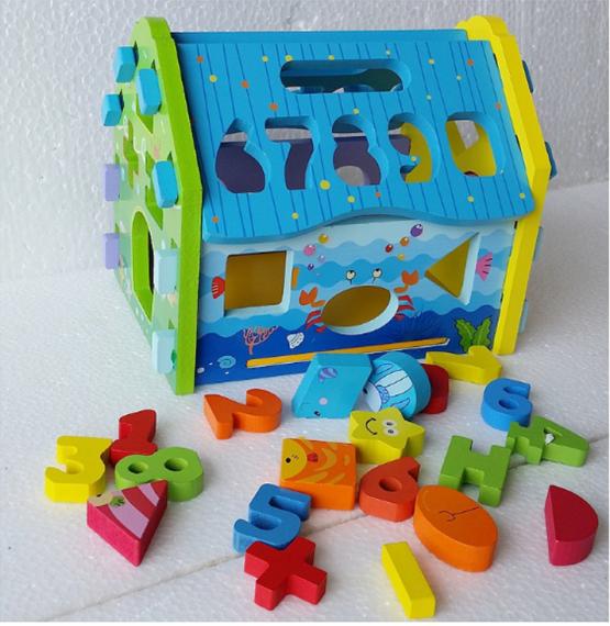 Drvena kućica umetaljka -Najlepše igračke 3