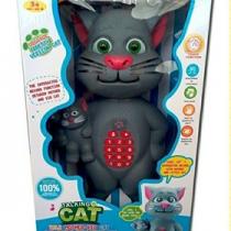 Veliki brbljivi mačak Talking Tom sa malom macom