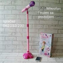 Frozen mikrofon sa postoljem