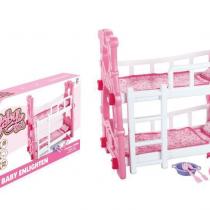 Krevetac na sprat za lutke
