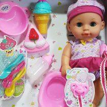 Beba sa zvucnim efektima i sladoledom