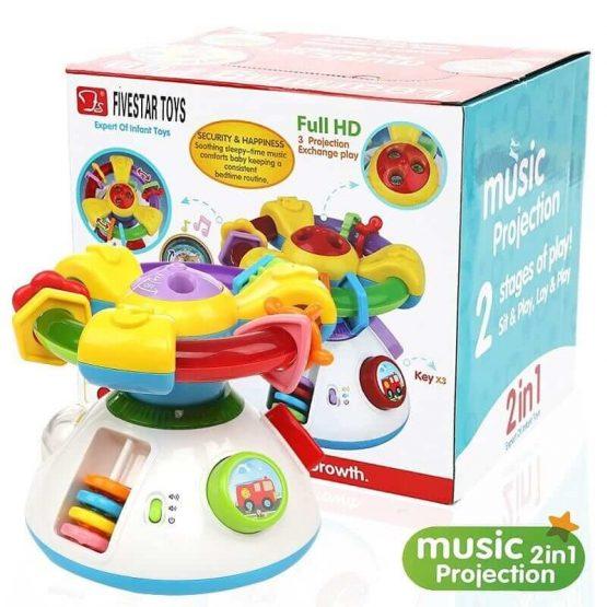 Bebi muzički projektor 2u1