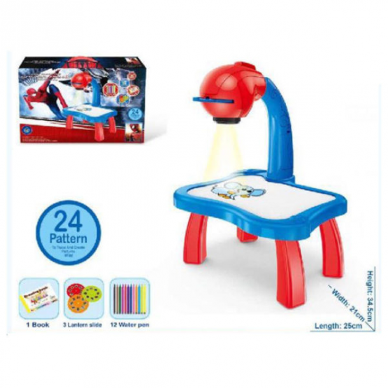 Spiderman – projektor za crtanje