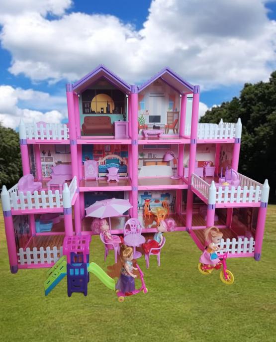 Kućica za lutke sa nameštajem