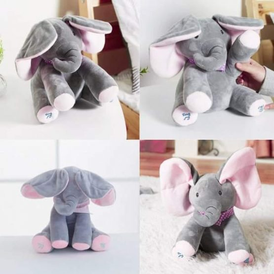 Pevajući slon Flappy - idealan poklon za mališane    Najlepše igračke