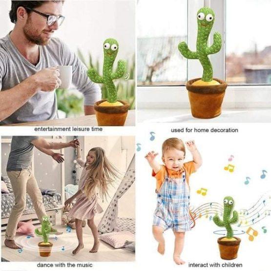 Plišani kaktus koji pleše i ponavlja reči - Najlepše igračke
